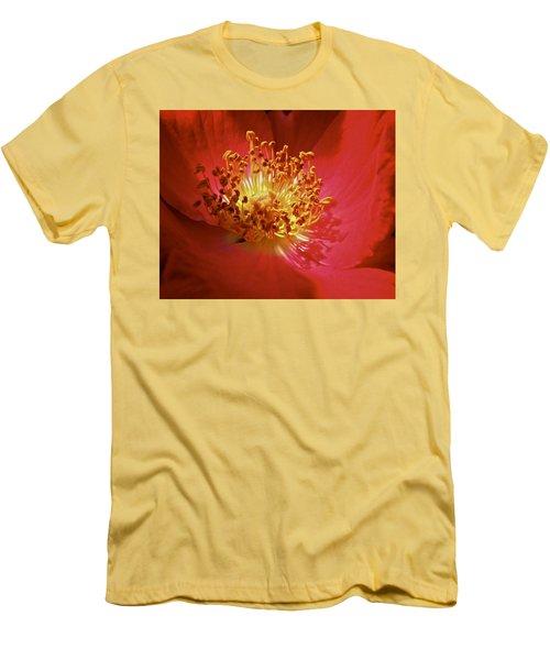Striking It Rich Men's T-Shirt (Slim Fit) by Richard Cummings