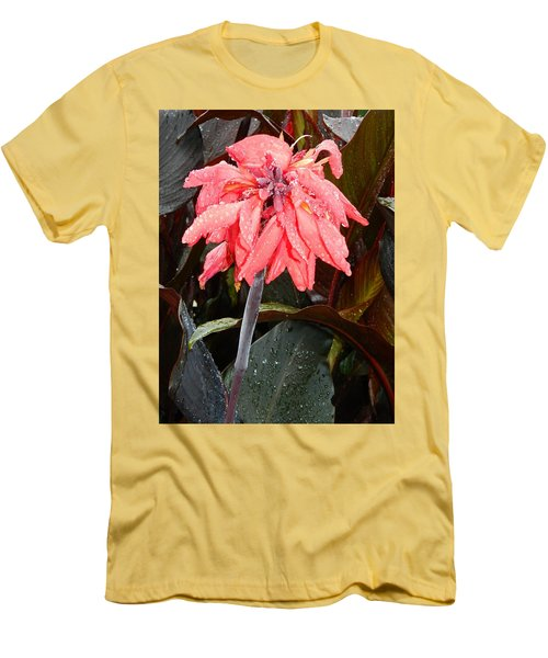 Men's T-Shirt (Slim Fit) featuring the photograph Summer Rain In Maryland by Emmy Marie Vickers
