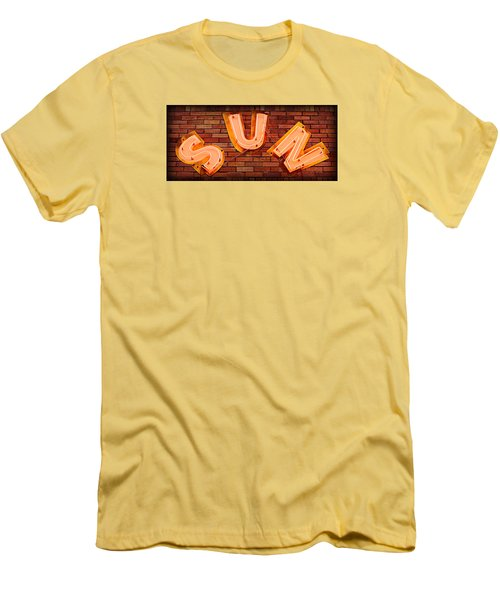Sun Studio Neon Men's T-Shirt (Slim Fit) by Stephen Stookey