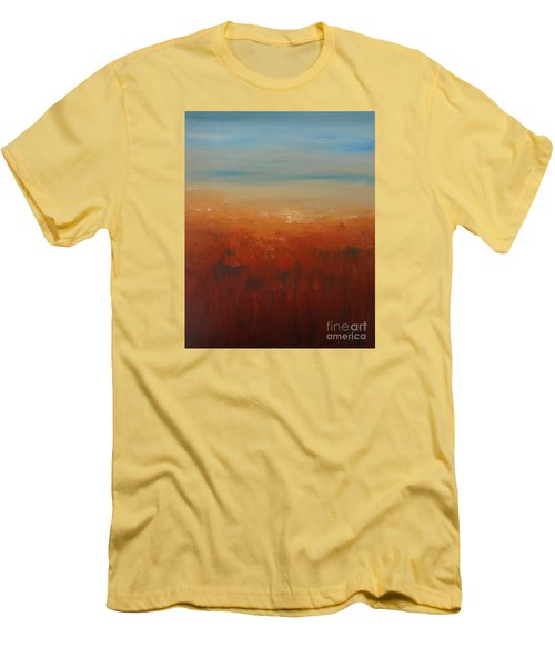Sunburnt Country Men's T-Shirt (Slim Fit) by Jane  See