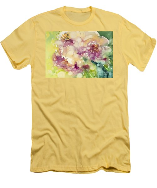 Sundappled Rose Men's T-Shirt (Athletic Fit)