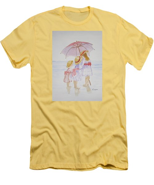 Sunday Best At The Beach Men's T-Shirt (Athletic Fit)