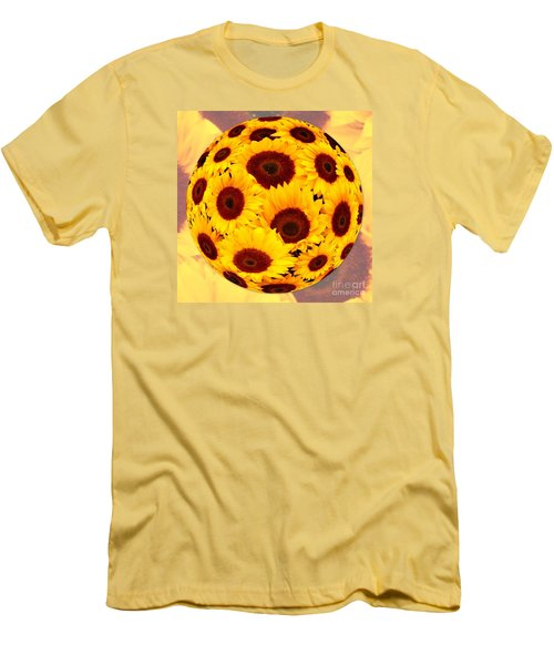 Sunflower Sunshine Men's T-Shirt (Athletic Fit)