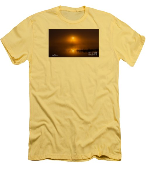 Sunrise In The Fog Men's T-Shirt (Athletic Fit)