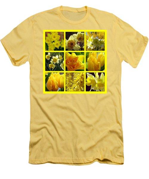 Sunshine Gold Picture Window Men's T-Shirt (Athletic Fit)