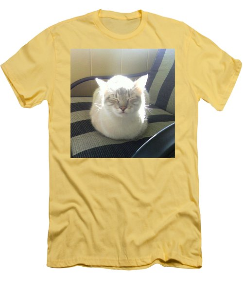 Sunshine Kitty Men's T-Shirt (Athletic Fit)