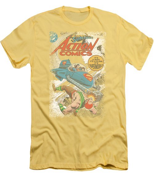 Superman - Action #481 Cover Men's T-Shirt (Athletic Fit)