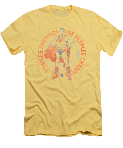 Superman - Peoples Champion Men's T-Shirt (Athletic Fit)