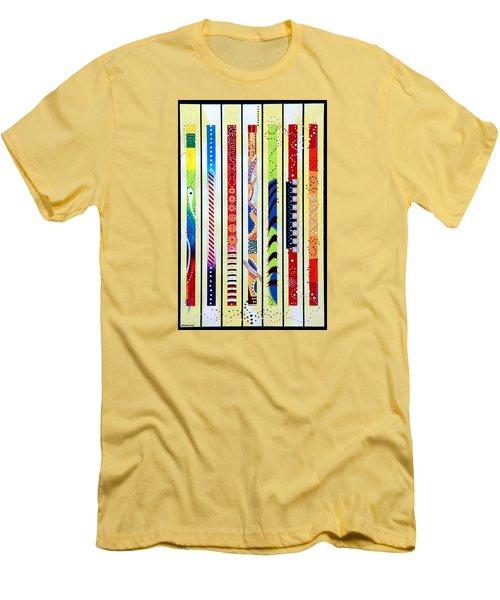 Sweeping Gesture Men's T-Shirt (Slim Fit) by Thomas Gronowski