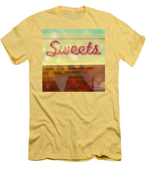 Sweets Men's T-Shirt (Slim Fit) by Valerie Reeves