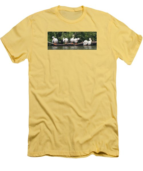 Taking Care Of Things Men's T-Shirt (Slim Fit) by Bruce Bley