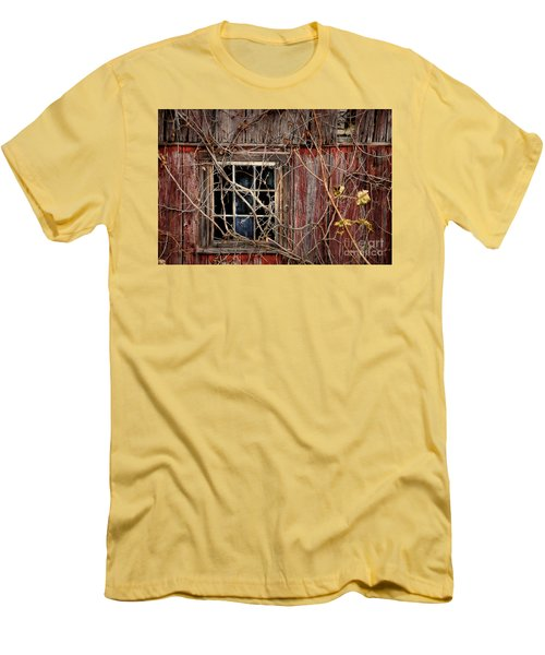 Tangled Up In Time Men's T-Shirt (Slim Fit) by Lois Bryan