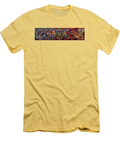 Tapestry Of Gods Men's T-Shirt (Athletic Fit)
