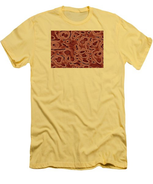 Men's T-Shirt (Slim Fit) featuring the digital art Tapma by Jeff Iverson