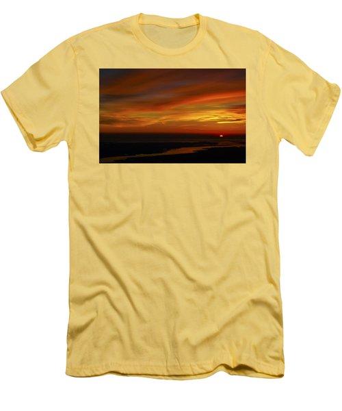 Rappahannock Sunrise II Men's T-Shirt (Slim Fit) by Greg Reed