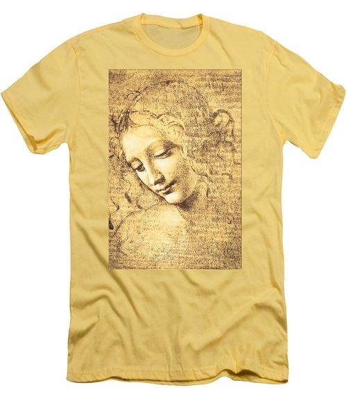 Testa Di Fanciulla Detta La Scapigliata Men's T-Shirt (Athletic Fit)