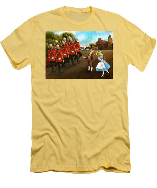 The British Soldiers Men's T-Shirt (Slim Fit) by Reynold Jay