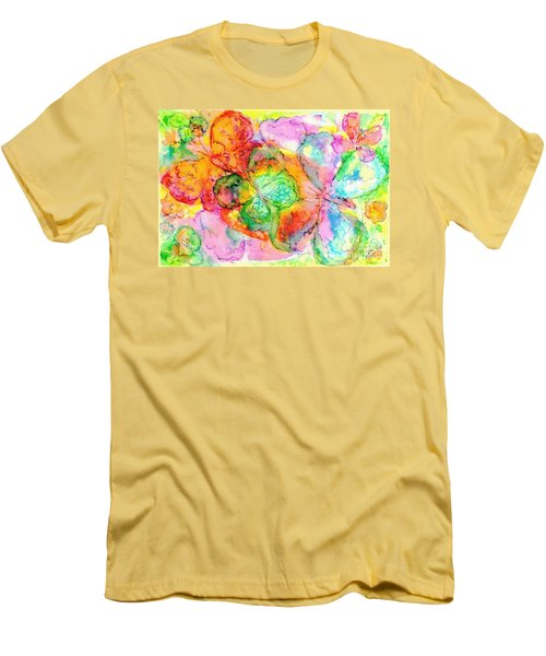 The Butterfly Dance Men's T-Shirt (Athletic Fit)