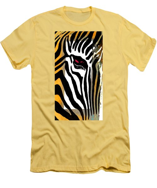 Men's T-Shirt (Slim Fit) featuring the photograph The Center by I'ina Van Lawick