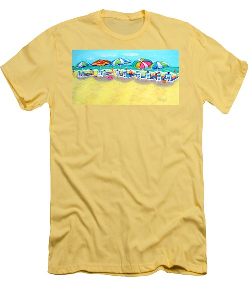 The Color Of Summer  Men's T-Shirt (Athletic Fit)