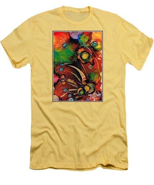 The Colours Of My Mind.. Men's T-Shirt (Slim Fit) by Jolanta Anna Karolska