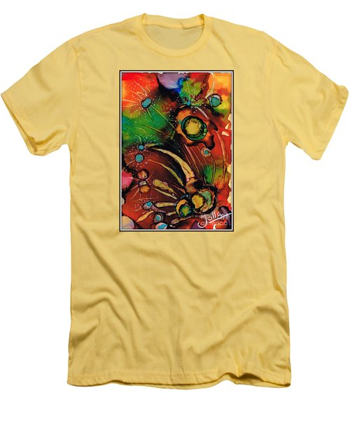 The Colours Of My Mind.. Men's T-Shirt (Athletic Fit)
