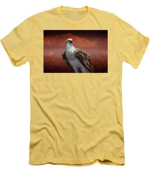 The Glory Of An Eagle Men's T-Shirt (Slim Fit) by Holly Kempe