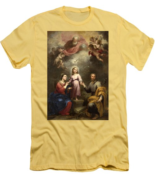 The Heavenly And Earthly Trinities Men's T-Shirt (Athletic Fit)