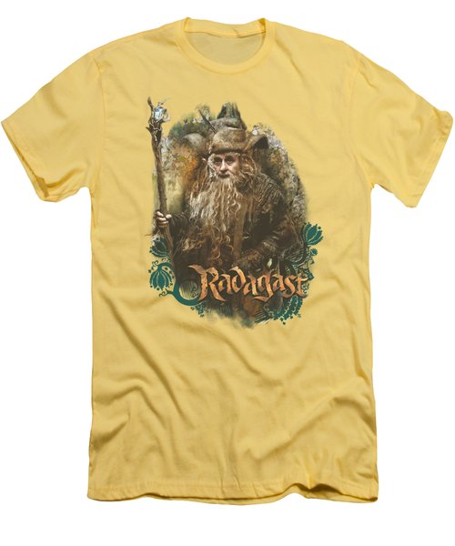 The Hobbit - Radagast The Brown Men's T-Shirt (Athletic Fit)