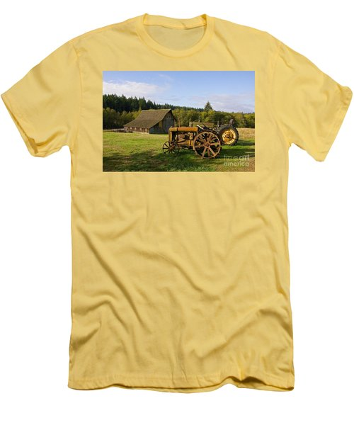 The Johnson Farm Men's T-Shirt (Athletic Fit)