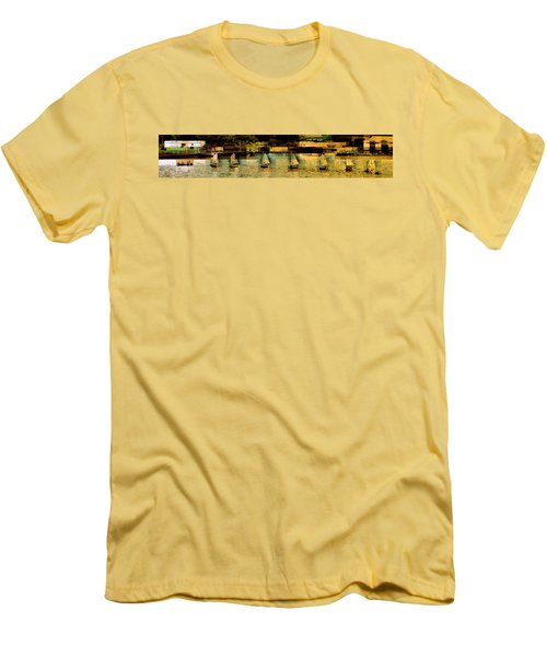 The Line Up Men's T-Shirt (Athletic Fit)