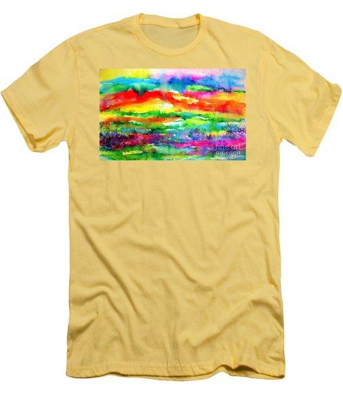 The Living Desert Men's T-Shirt (Slim Fit) by Hazel Holland