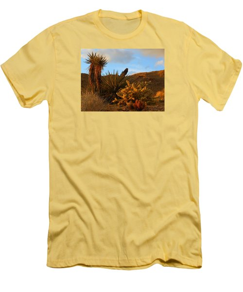 The Living Desert In Winter Men's T-Shirt (Athletic Fit)