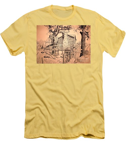 The Pig Sty Men's T-Shirt (Athletic Fit)