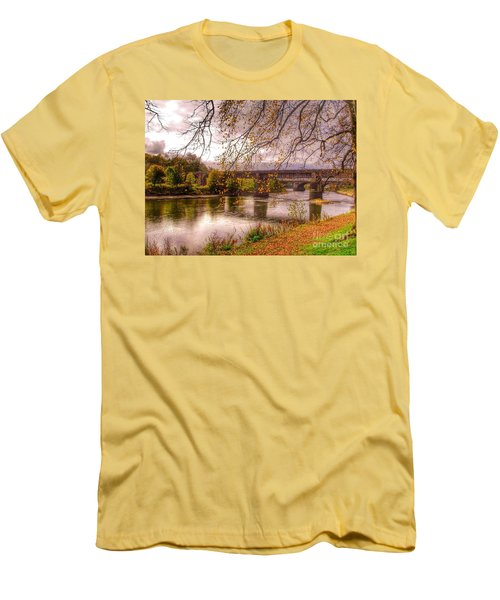 The Riverside At Avenham Park Men's T-Shirt (Athletic Fit)