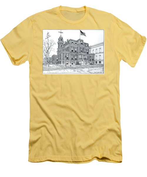 The Union League Philadelphia 1867 Men's T-Shirt (Slim Fit) by Ira Shander