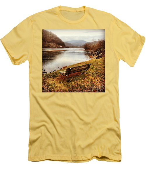 Men's T-Shirt (Slim Fit) featuring the photograph The View by Kerri Farley