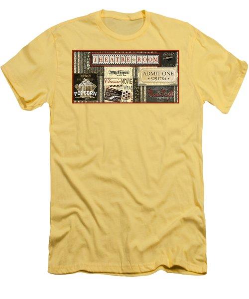 Theatre Room Men's T-Shirt (Athletic Fit)