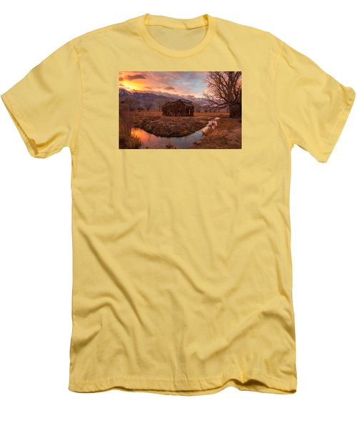 This Old House Men's T-Shirt (Slim Fit) by Tassanee Angiolillo
