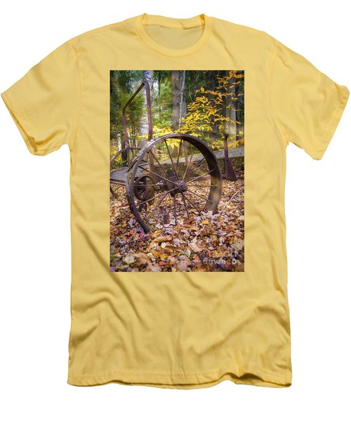 Time Gone By Men's T-Shirt (Slim Fit) by Alana Ranney