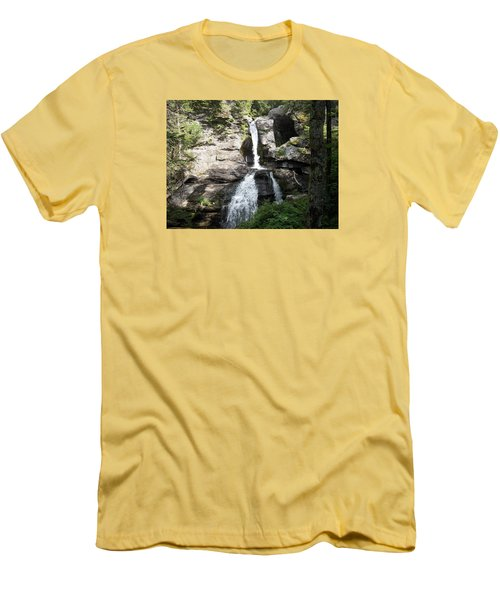 Top Of Kent Falls Men's T-Shirt (Athletic Fit)