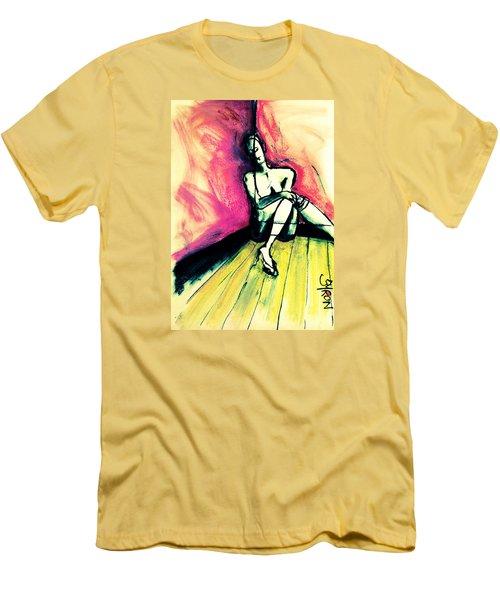Transparent Men's T-Shirt (Athletic Fit)