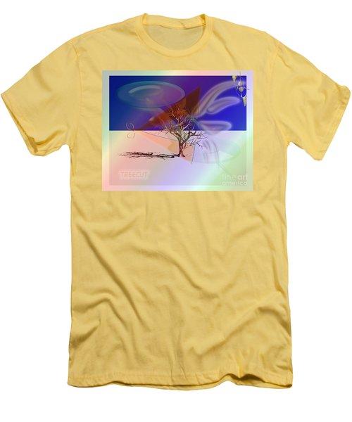 Tree Cut Men's T-Shirt (Athletic Fit)