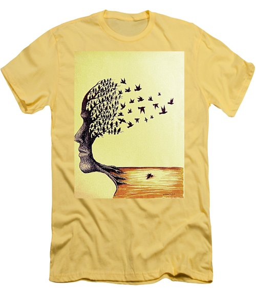 Tree Of Dreams Men's T-Shirt (Athletic Fit)