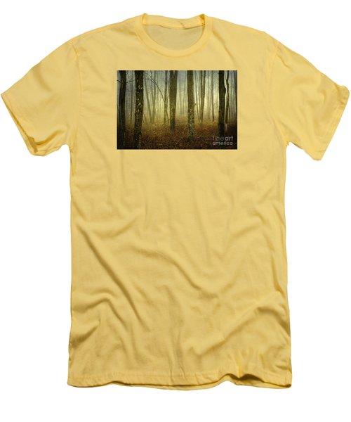 Trees II Men's T-Shirt (Slim Fit) by Debra Fedchin