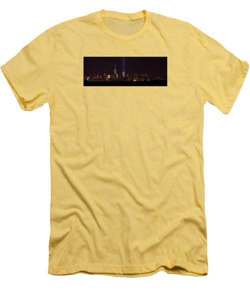 Tribute In Light 9.11 Men's T-Shirt (Athletic Fit)