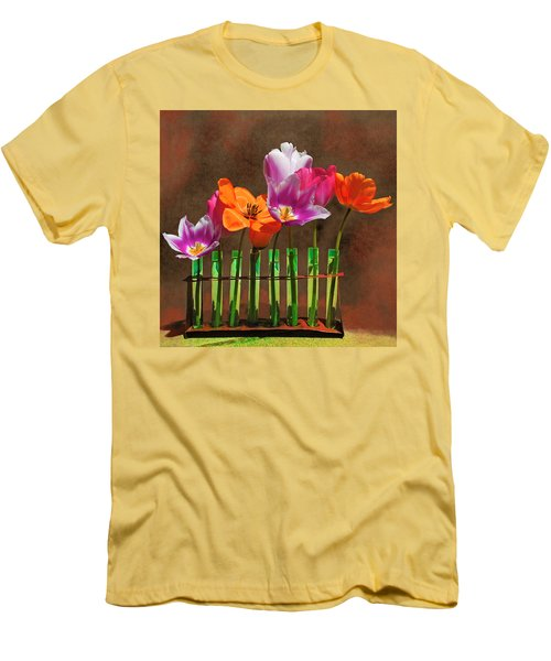 Tulip Experiments Men's T-Shirt (Slim Fit)