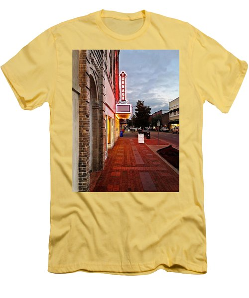 Turnage Theater Grand Opening Men's T-Shirt (Athletic Fit)