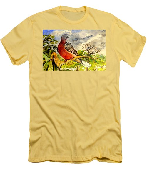 Turtle - Dove Men's T-Shirt (Athletic Fit)
