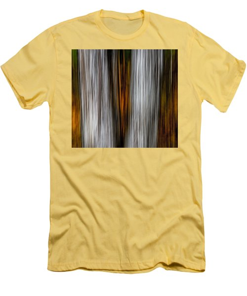 Men's T-Shirt (Slim Fit) featuring the photograph Twin Trunks by Darryl Dalton